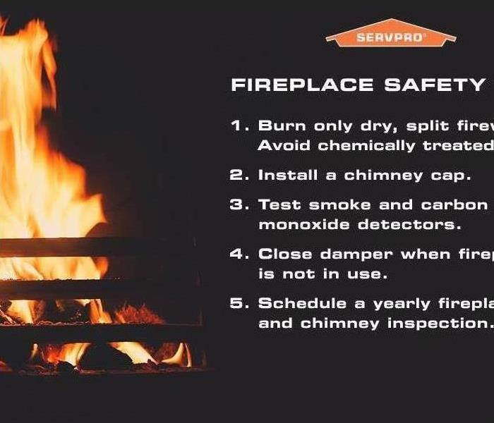 Fireplace Safety by SERVPRO of Loudoun County