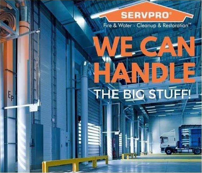Commercial No Job is Too Large for SERVPRO of Loudoun County