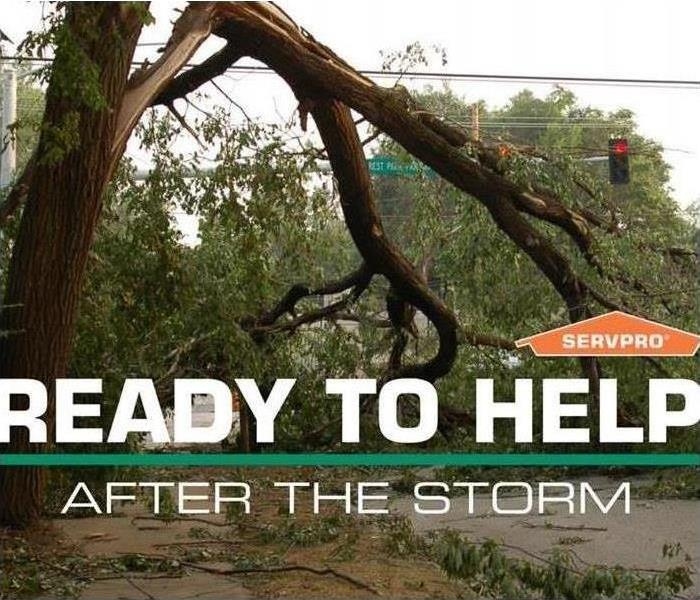 Storm Damage When Storms or Floods hit Loudoun County, our SERVPRO team is ready!