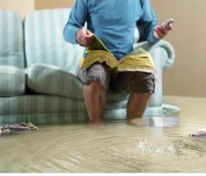 Storm Damage How SERVPRO Protects Your Home's Contents